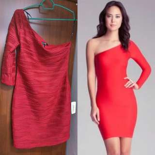 Forever21 Red Sexy Party Dress