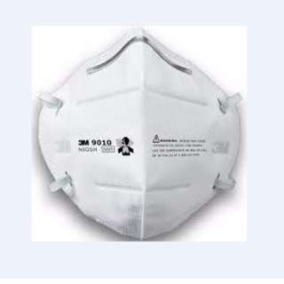 5 Pcs 3M 9010 N95 口罩 折疊式設計 Disposable Particulate Respirator