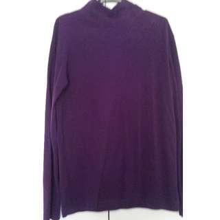 Uniqlo Fleece Turtleneck Shirt