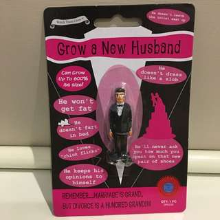 Novelty Grow A New Husband Joke Gift