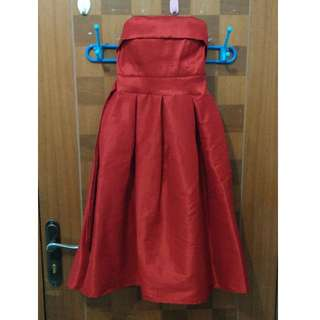 Red Dress Preloved