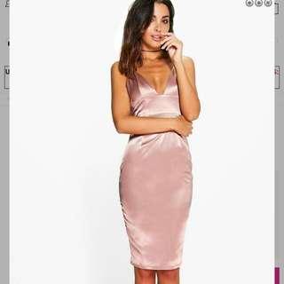 Slip Dress in Rose