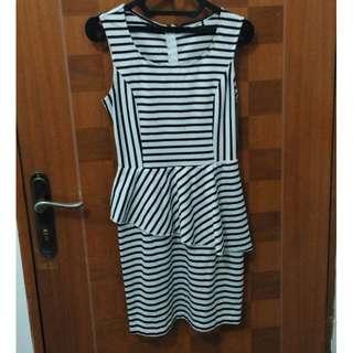 H&M Stripes Dress Preloved