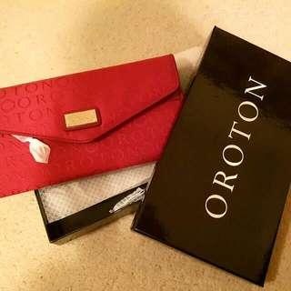 Red Oroton Wallet