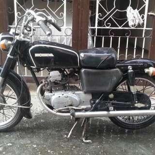vintage 1970 honda sd 125ke