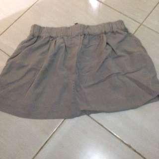 Zara Mini Grey Skirt (rok)