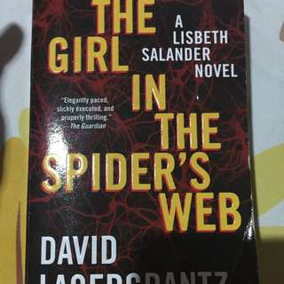 The Girl In The Spider's Web Buku Inggris