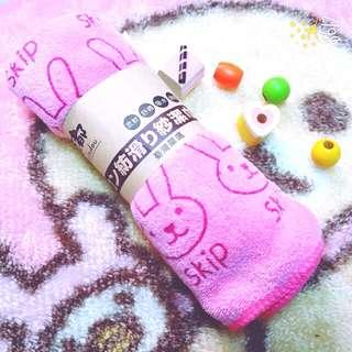 粉色 兔子 超強吸水布 吸水布 日本 進口