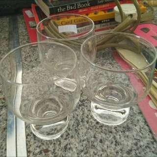 3pc Set Glasses