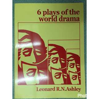 🚚 6 plays of the world drama