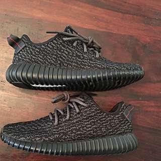 Yeezy 350 pirate black 7