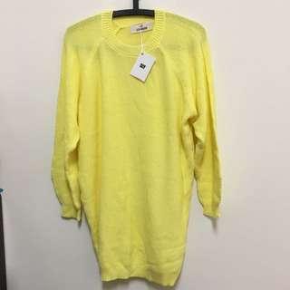 SLY 日本 針織 毛衣 連身衣 正貨