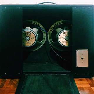 Ceriatone G12H Speakers 2x12 Cabinet (Discontinued Straight Cabinet)