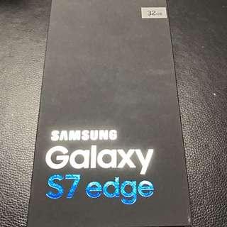 Samsung S7 Edge. Box Only