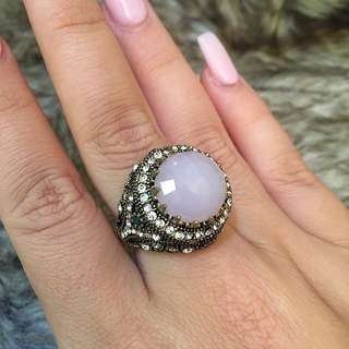 European Crystal Ring