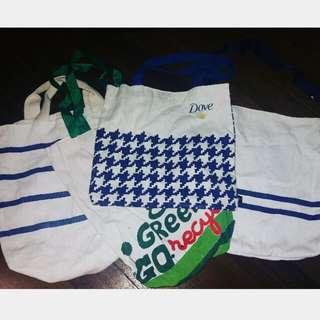 DOVE/GREENWICH (4) eco Bags