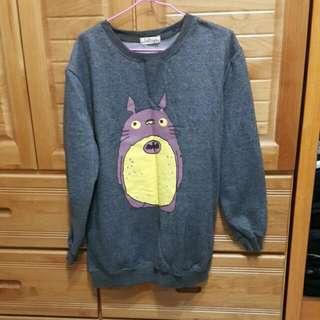龍貓刷毛上衣