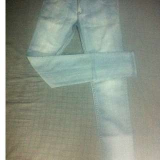 Oxygen light blue skinny jeans