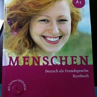 MENSCHEN A1(Hueber) 德文書