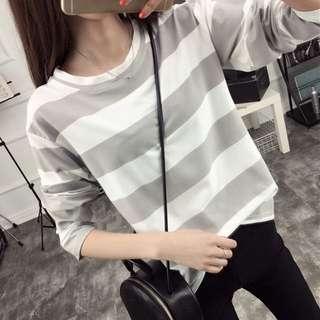 [READY STOCK] Stripes Shirt