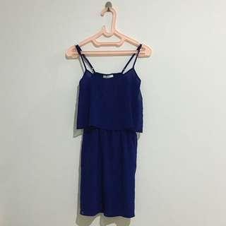 Mango Blue Mini Dress Summer