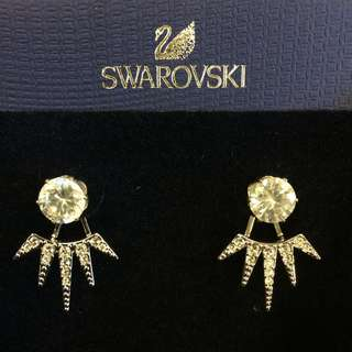 Swarovski Earings 2 in 1