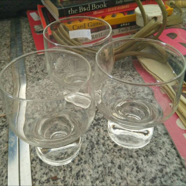 3pc Set Glasses