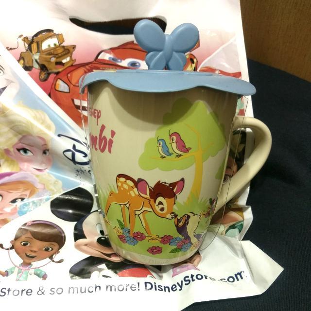 迪士尼 Disney 小鹿班比 Bambi 馬克杯 杯蓋