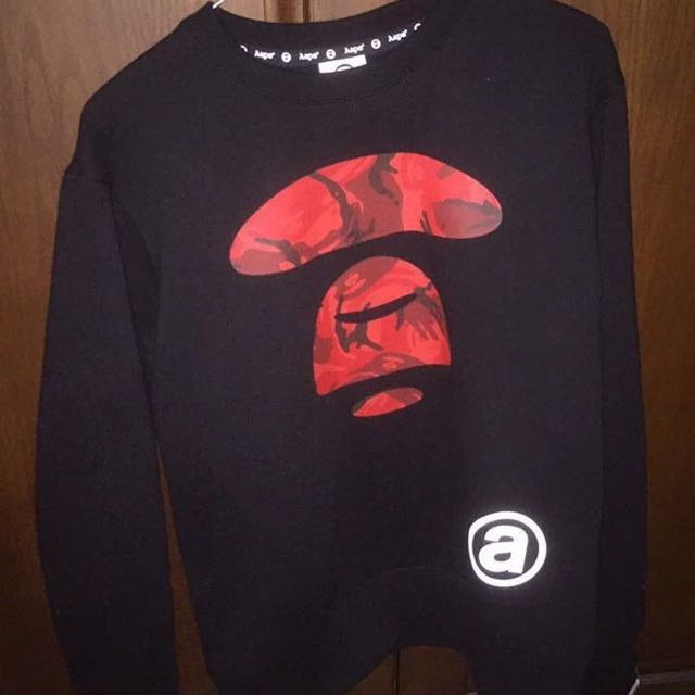Aape Sweatshirt Black/Red