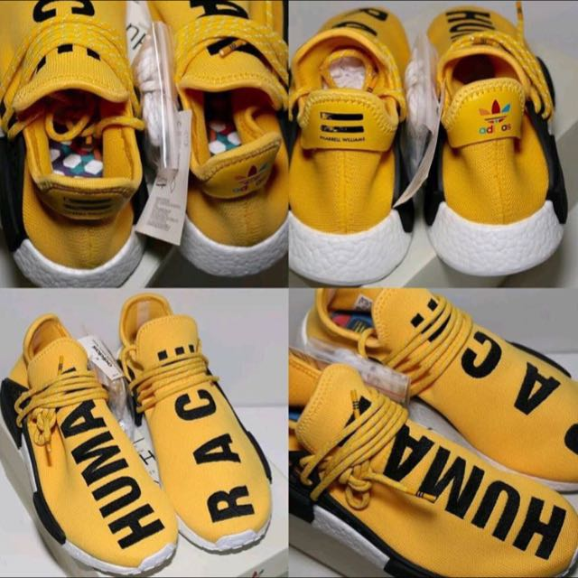 Adidas NMD Human Race (Yellow/Black) OG