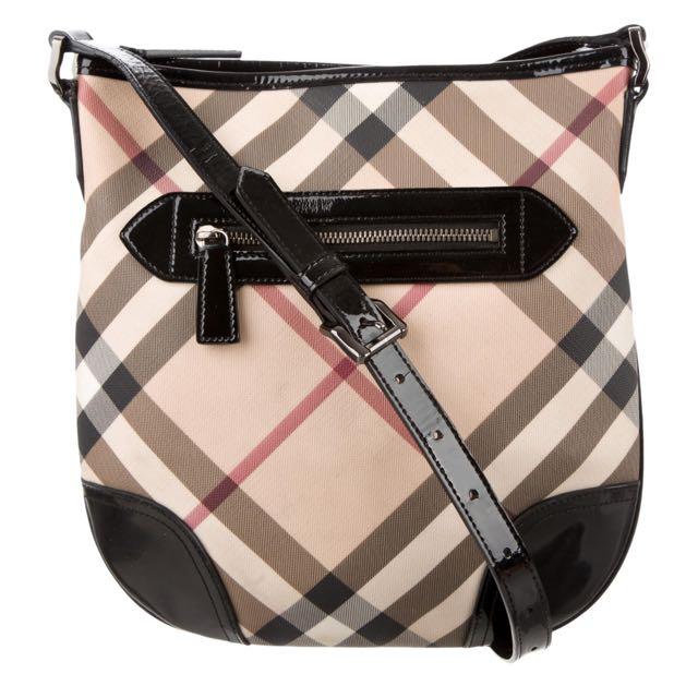 Authentic Burberry Nova Dryden Cross body Bag