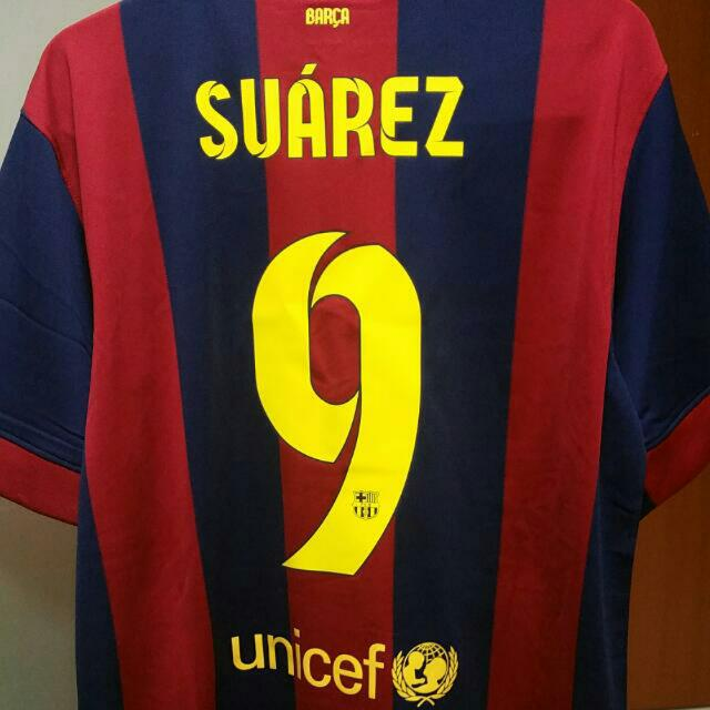 6d26d5d806f AUTHENTIC LUIS SUAREZ BARCELONA NIKE HOME JERSEY BRAND NEW, Sports, Sports  Apparel on Carousell