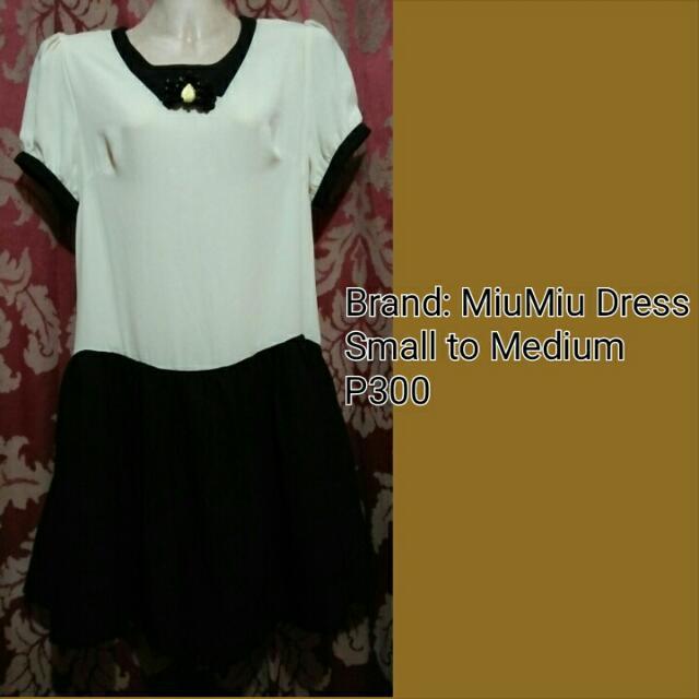 Authentic Miumiu Dress