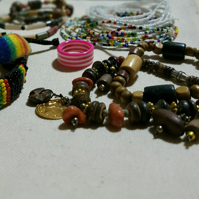1 Set Beads Bracelets: When I Was In College
