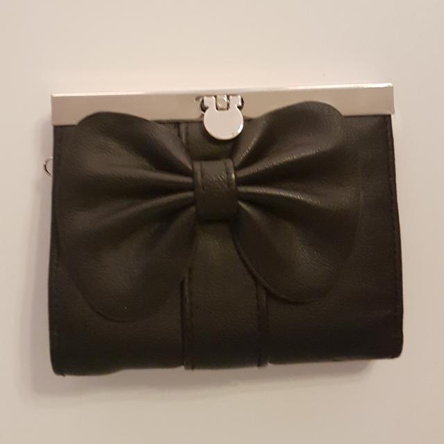 Black Bow Wallet