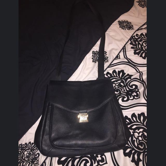 Black side bag/backpack