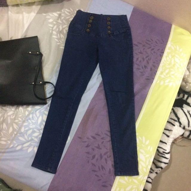Blue HW Jeans