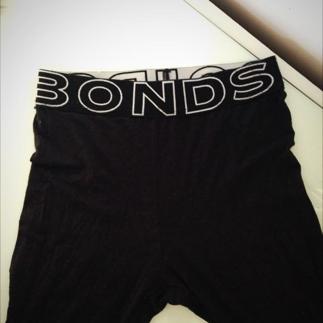 Bonds Black Leggings