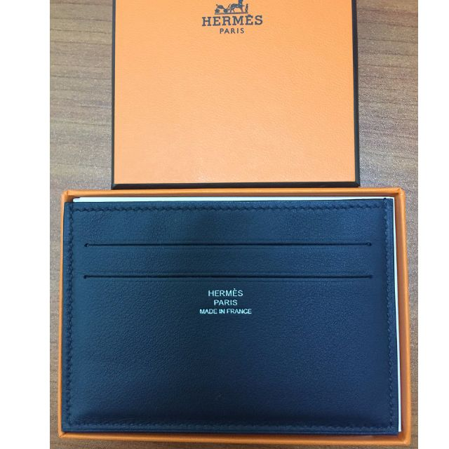 promo code 89ff8 a99ee Brand new Hermes Citizen Twill Card Case