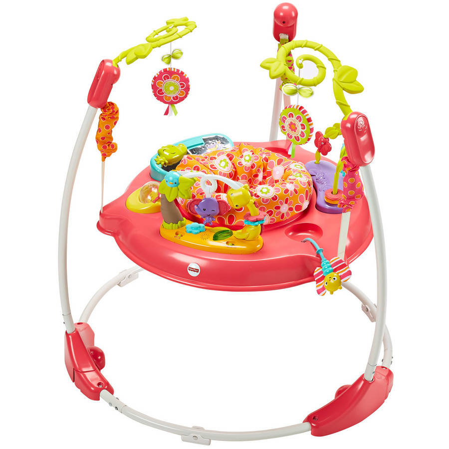 7b3940690 Brand New in Box Pink Petal Fisher Price Jumperoo Jumper Baby ...