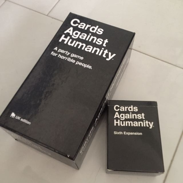 Card Against Humanity UK Edition With Expansion Pack