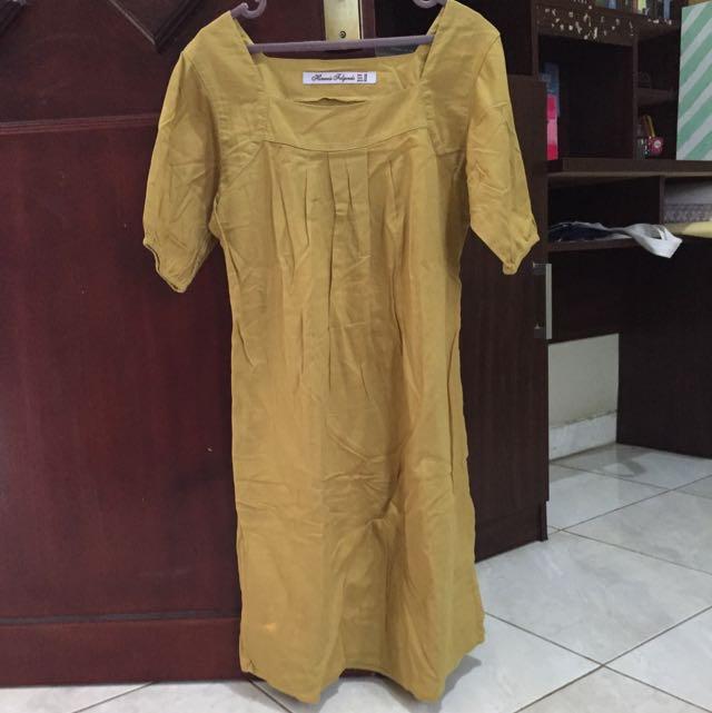 Casual Dress Kuning