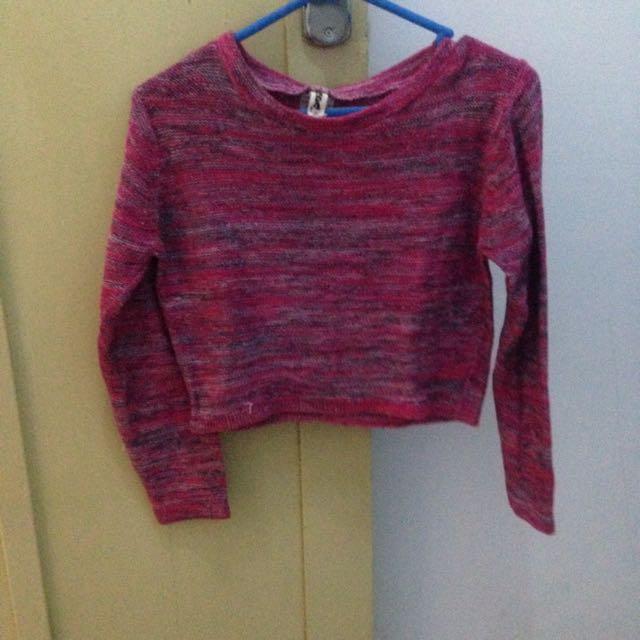 Chara Knit Top Pink