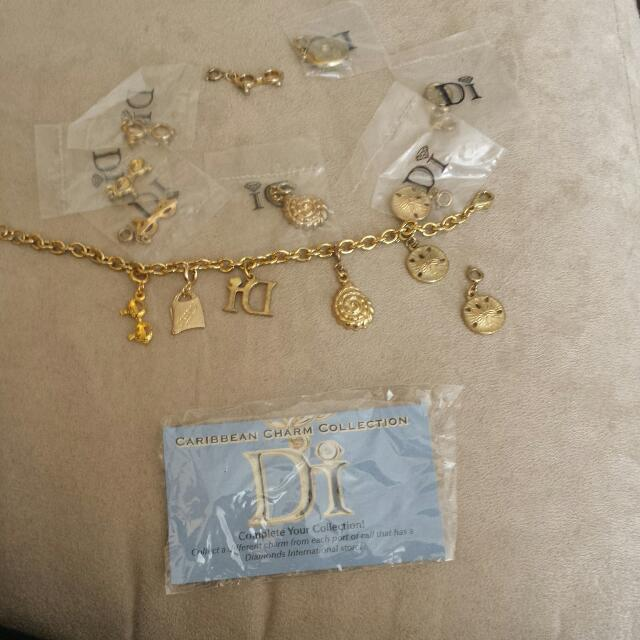 Charm Bracelet And Extra Charms