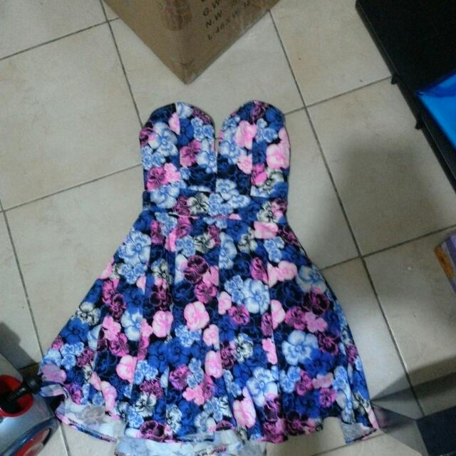 Chica Booti Floral Dress