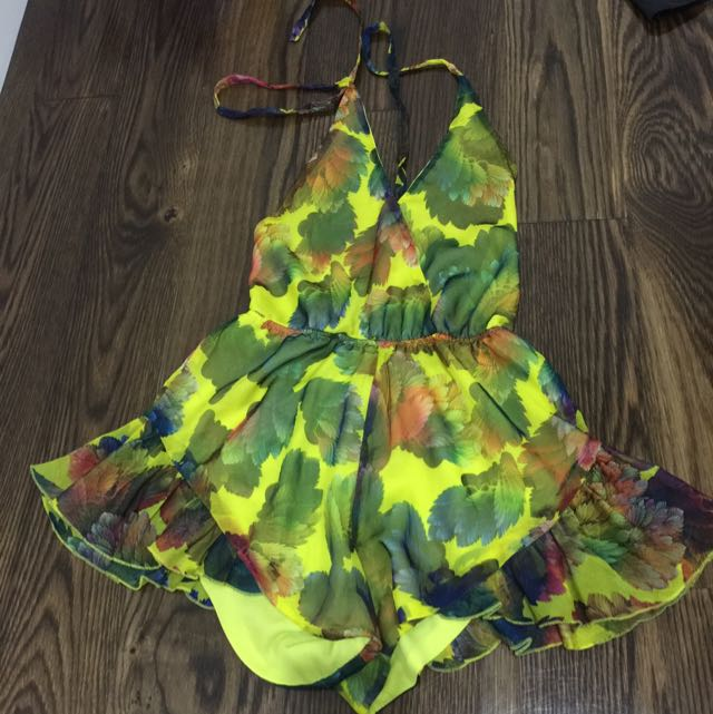 Coloured Play suit