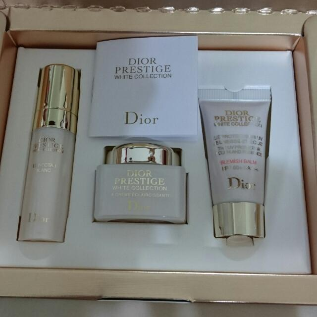 Dior精萃再生花蜜淨白光燦旅行組