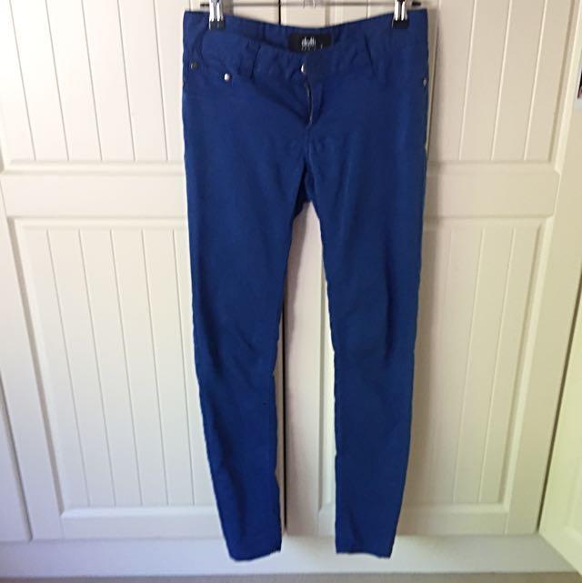 Dotti Blue Skinny Jeans Size 7