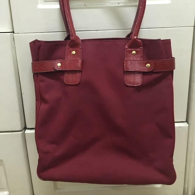 Estee Lauder Red Tote Bag
