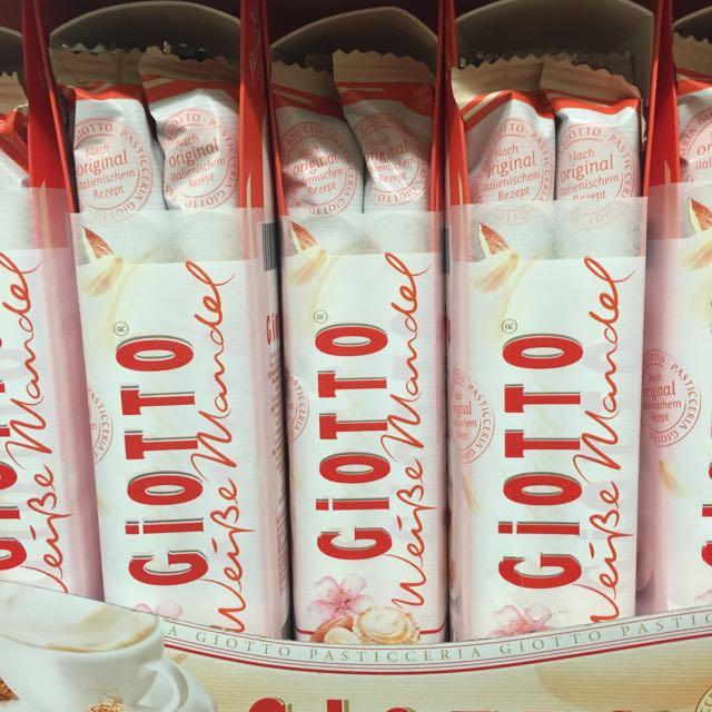 Ferrero Giotto White Chocolate Almond Cream, Food & Drinks ...  Ferrero Giotto ...